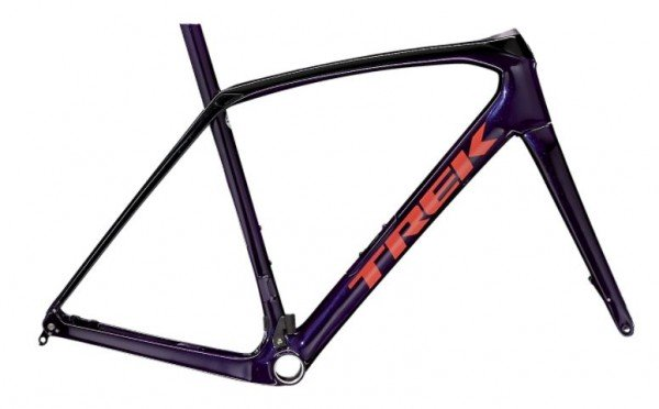 Rahmenkit Trek Domane SL Disc 2021 Purple Abyss/Trek Black
