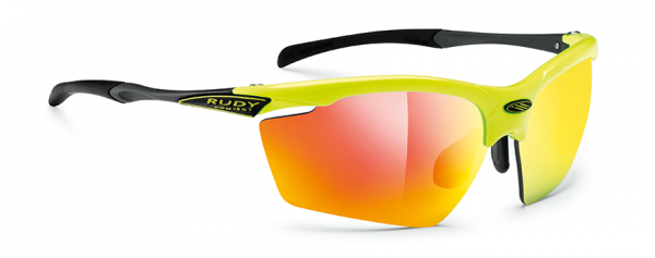 Rudy Project Agon Racing Yellow Fluo Gloss/Multilaser Orange