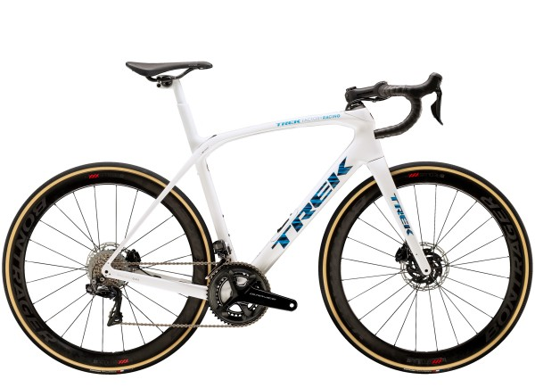 Trek Domane SLR 9 Disc 2021 Voodoo Trek White/Blue