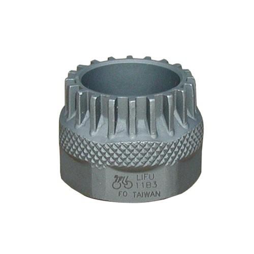 Lifu - IceToolz Tretlagerwerkzeug Shimano Cartridge für 32er-Gabelschlüssel