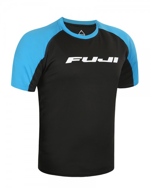 Fuji Trail Jersey blue Shortsleeve