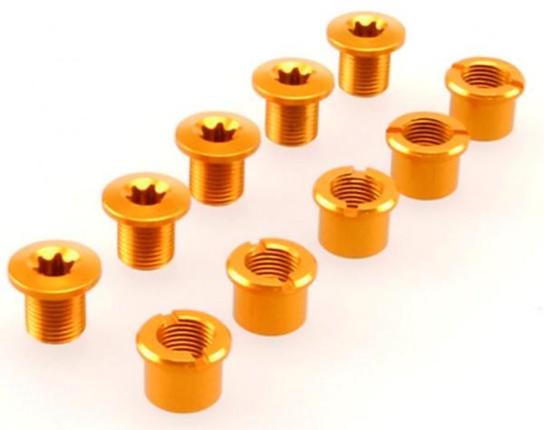 Kettenblattschrauben Procraft 3fach gold