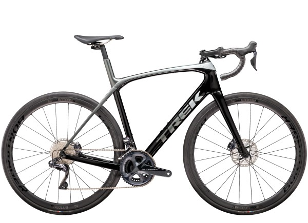 Trek Domane SLR 7 Disc 2020 Trek Black/Quicksilver-Anthracite Fade