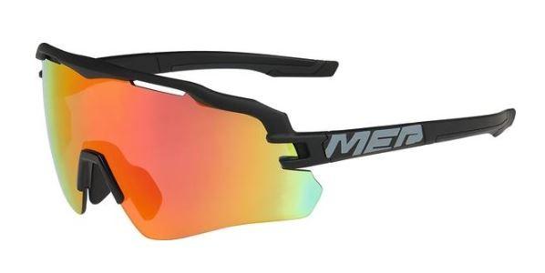 Merida Sonnenbrille Race mattschwarz/grau