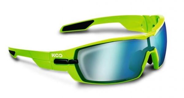 Kask KOO Sonnenbrille inkl. 2 Gläser Superblue und Clear grün 2018 Brillen CgH3ay