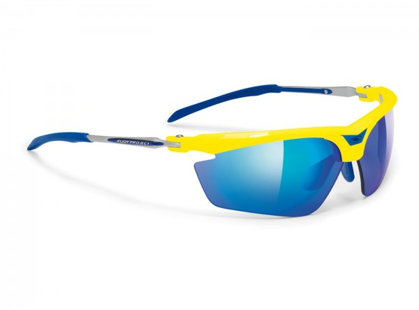 Rudy Project Magster Racing yellow fluo / multilaser blue / racing red