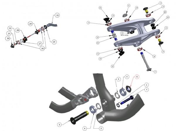 Trek Fuel EX 5/6/7 2013, 304639 (Nr.28), ABP Schaltauge