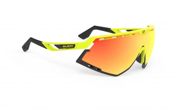 Rudy Project Defender yellow fade-black/ Multilaser orange