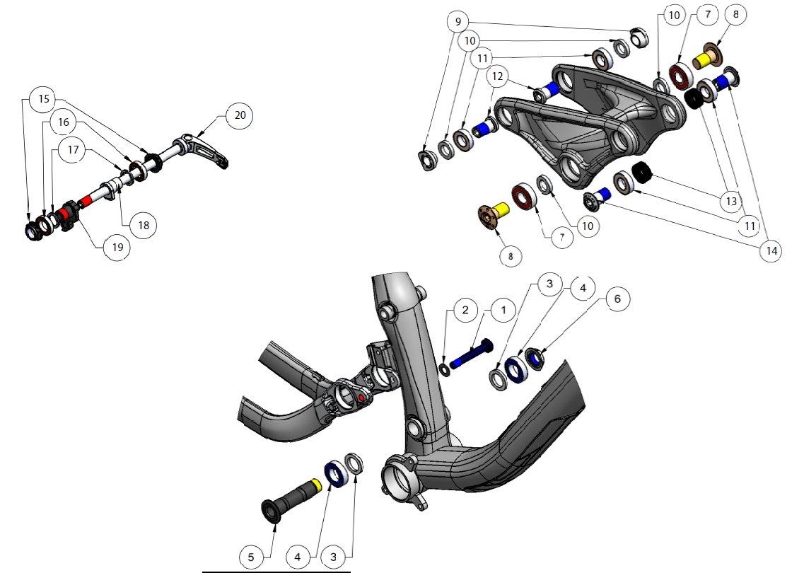 Dirt Bike Parts Diagram Wiring And Engine Honda Xr 80 F 1800 Also 1982 Xr80 Mini Baja Additionally Power Wheels