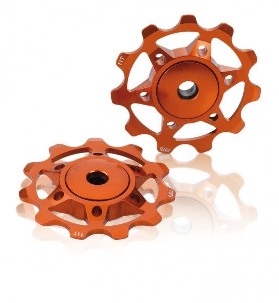 Schaltungsrädchen XLC orange