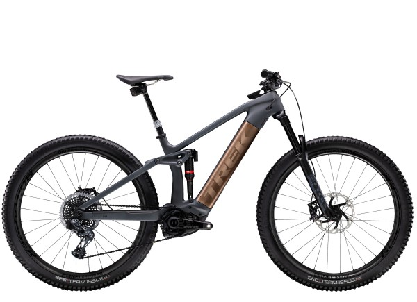 Trek Rail 9.9 X01 AXS 2020 Solid Charcoal to Root Beer Ano Decal