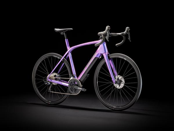 Trek Domane+ LT 2020 Gloss Purple Flip