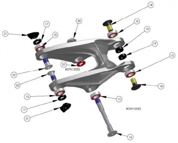 Trek Lush Carbon 2012, 275322 (Nr.15), Industrie Lager, 6900-2