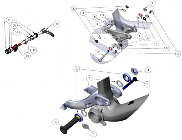 Trek Fuel EX Carbon 2013, 292095 (Nr.5), Dichtungsring, I.D. 17.