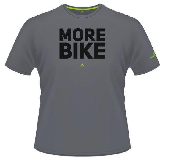 Merida T-Shirt More Bike Edition grau