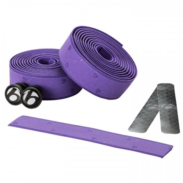 Bontrager Gel Cork Lenkerband purple