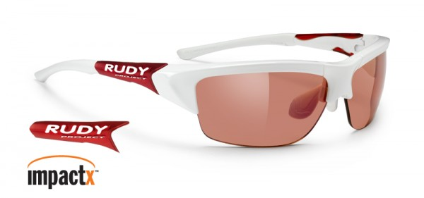 Rudy Project Ryzer white / ImpactX photochromic red