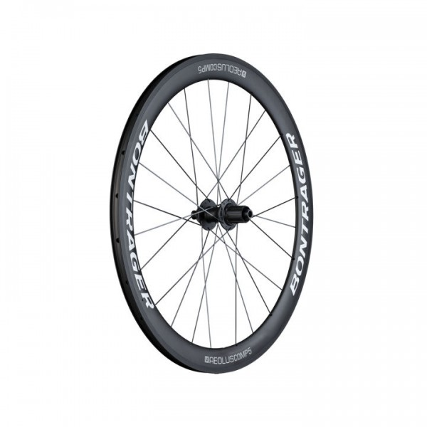 Bontrager Aeolus Comp 5 TLR Disc Hinterrad white/anthrazit