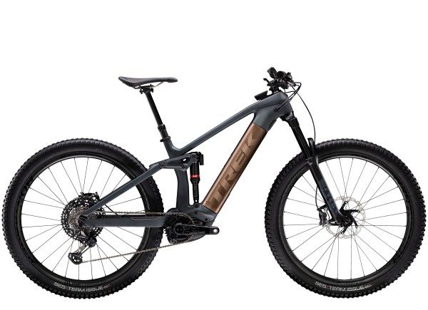 Trek Rail 9.9 XTR 2020 Solid Charcoal to Root Beer Ano Decal