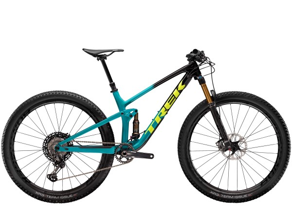 Trek Top Fuel 9.9 XTR 2020 Trek Black to Teal Fade