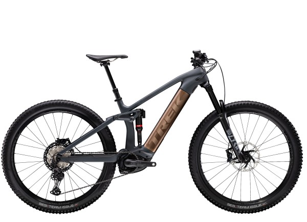 Trek Rail 9.8 XT 2021 Solid Charcoal to Root Beer Ano Decal