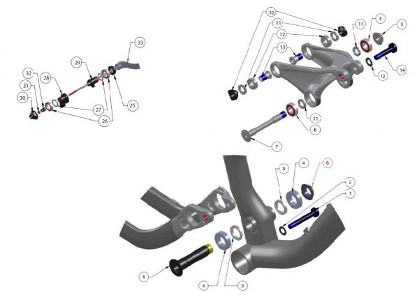 Trek Fuel EX 4 2013, 306006 (Nr.27), Washer 23OD x 17ID x 2