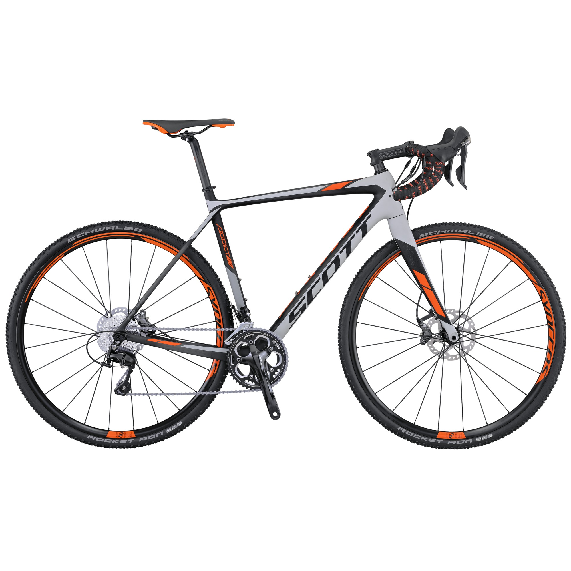 scott addict cx 20 disc 2016 cyclo cross gravel bike. Black Bedroom Furniture Sets. Home Design Ideas