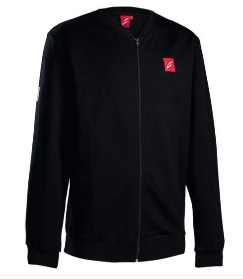 Centurion Sweat Jacket schwarz