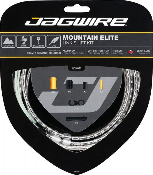 Schaltzugset Jagwire Road Elite Link silber