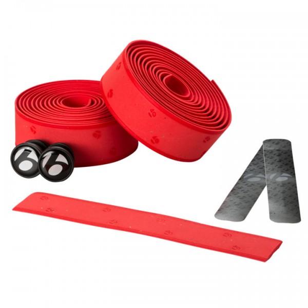 Bontrager Gel Cork Lenkerband red