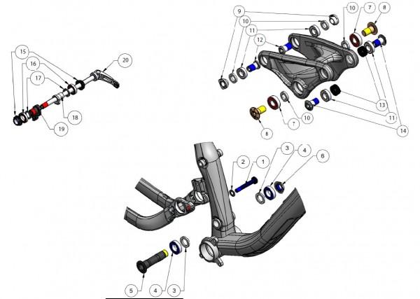 Trek Fuel EX 8/9 2013, 305083 (Nr.16), Lager MR17286 LLU MAX