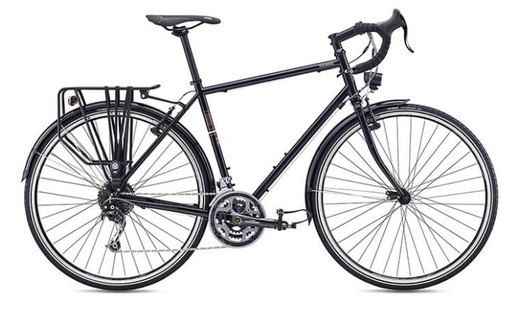 fuji touring 2019 schwarz cyclo cross gravel bike. Black Bedroom Furniture Sets. Home Design Ideas