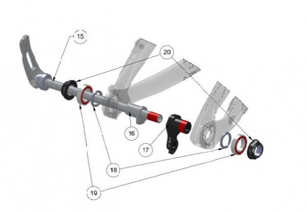 Trek Superfly 100 Carbon 2013/14, 301805 (Nr.17), ABP Schaltauge